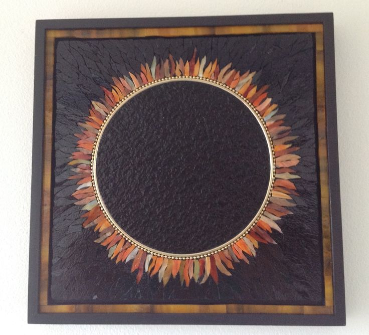 Solar Eclipse Mosaic by Maureen Zannini