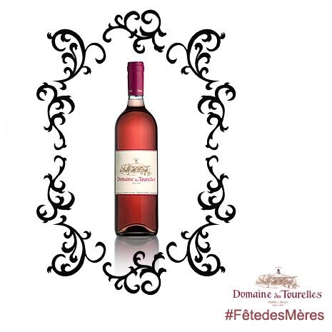 Votre mère a du #caractère? Elle appréciera à sa juste valeur ce #Rosé des #Tourelles 2012.