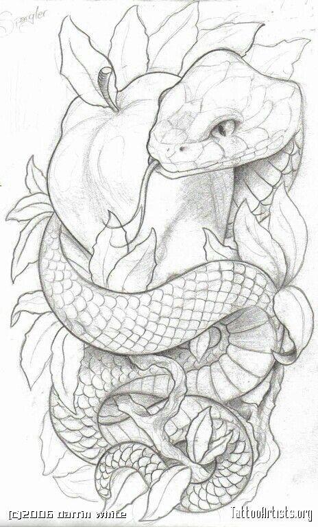 Snake Tattoo Wrapped Around Leg I want a snake.