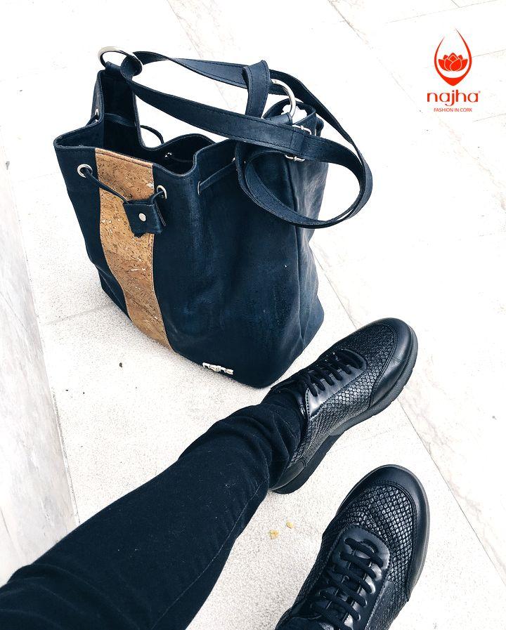 GOOD MORNING FRIDAY  When Najha bags is your beste friend  #Najha #najhashoes #corknajha #najhavegan #bagscork #shoescork