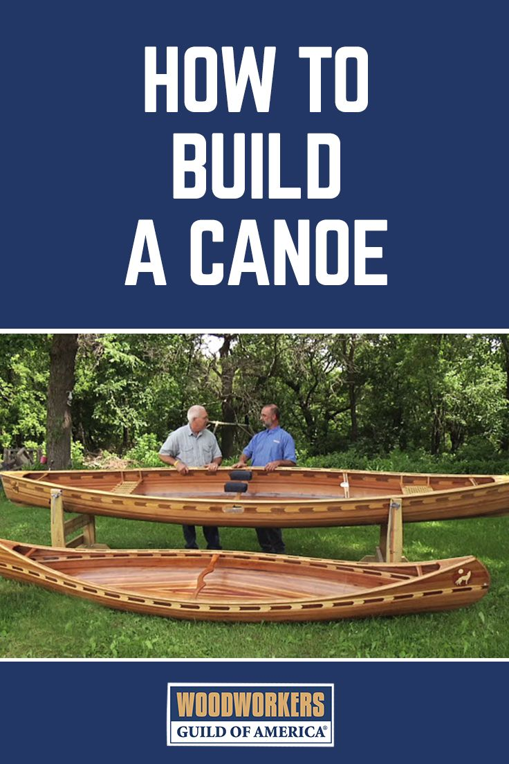 How to Build a Canoe | Wooden Canoe Plans