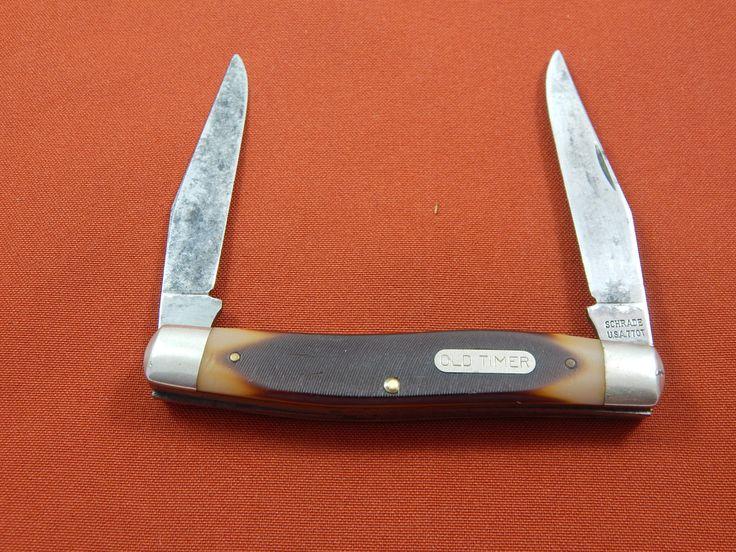 Vintage Scharde Old Timer Pocket Knife by AlwaysPlanBVintage on Etsy