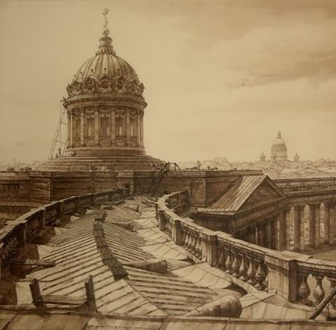 Максим Атаянц #draw #art #saintpetersburg