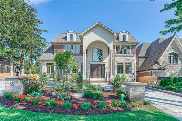 LUXURY HOME: *Location,Location,Location*A Rare Find In The Heart Of Prestigious S/Richvale*A Masterful Balance Of Contemporary Timeless Elegance.6700 Sf+1400 Sf.Circular Drive W,12' Ceiling Main Fl & 9' 2nd Flr, Custom Gourmet Kitchen,Wet Bar,Wine Cellar, Theater Rm,Huge Deck,3 Skylight,Hrvsystem, Butler Pantry,Foyer Heated Floor,Finw/O Heated Flr Bsmt With 2 Bedrooms,Cvac,Sprinkler Sys, Speakers. Every Bedroom Offers Its Own Bath,2 Energy Saver Furnaces.