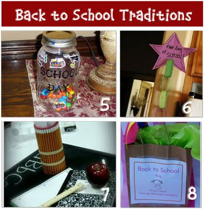 12 first day of school activities that can be turned into traditions.: Schools Bags, Back To Schools, Good Ideas, First Day Of Schools, Schools Traditional, Schools Ideas, Schools Activities Repin, Activities Repin By Pinterest, Cool Ideas