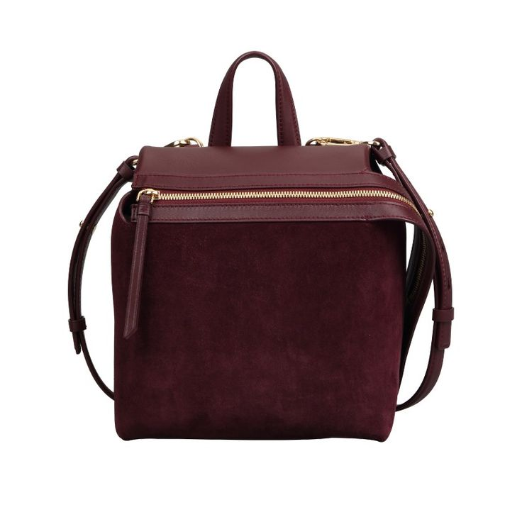 #Dissona #Backpack #Bordeaux #Leather #Suede