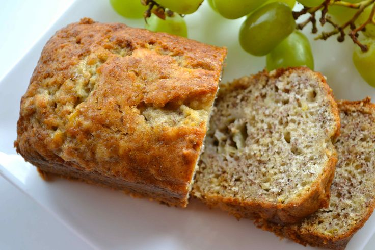 Back-to-School Basics: Banana Flax Bread
