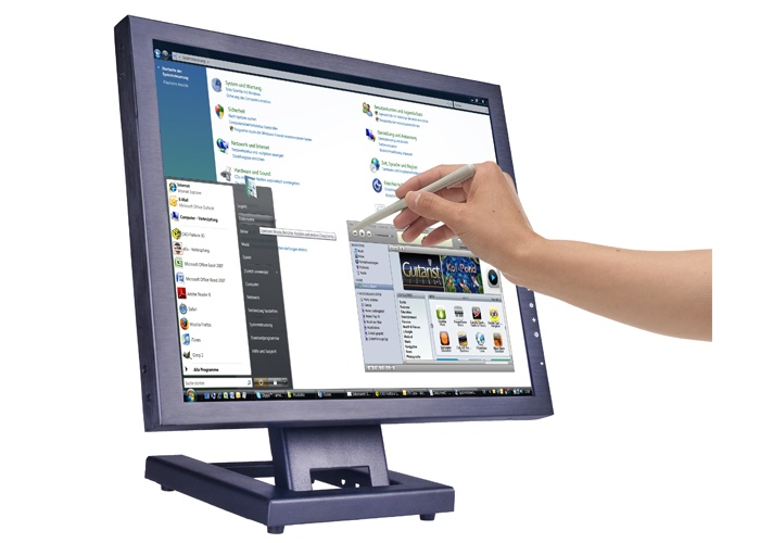 Industrial Touch PC.    Industrial Touch PC. As an all-in-one Touch PC, the Metroclick Industrial Tablet is a mall powerful and robust solution, suitable for use in harsh environments. Protected by Gorilla glass – fit for harsh conditions and heavy use.