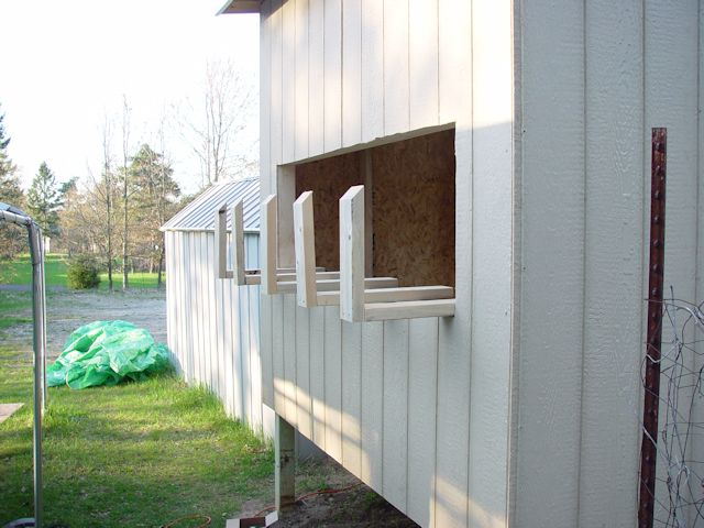 nesting boxes for chickens plans