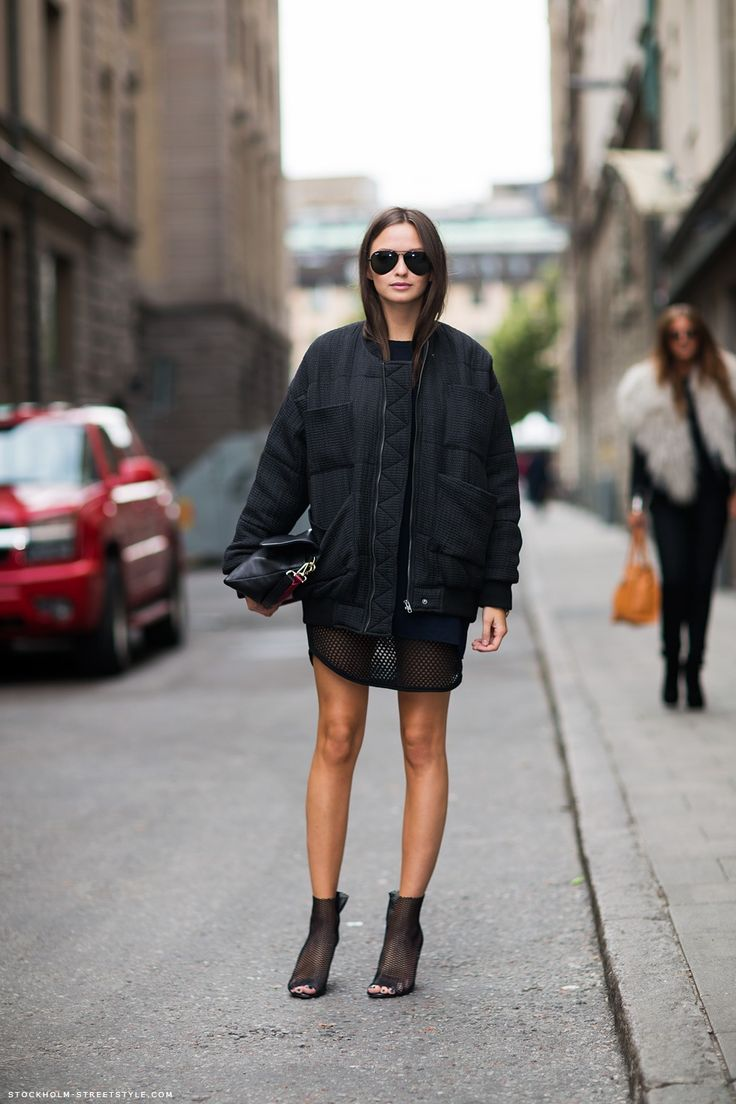 black and chic.