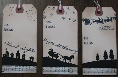 Stampin' on the Prairie: Christmas Gift Tags