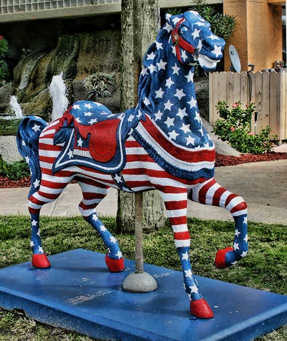 The Herschell-Spillman Carousel and Carousel Horses of Myrtle Beach. Lots of…