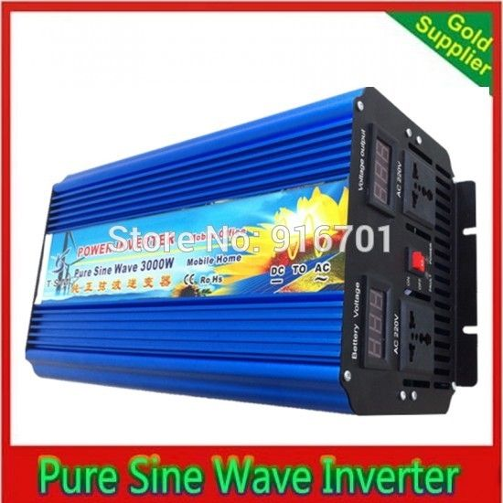319.18$  Buy here - http://alix1y.worldwells.pw/go.php?t=32735003297 - 3000w off grid inverter. Pure sine wave inverter. Wind inverter. Solar inverter. 12/24/48V DC to 100/110/120/220/230/240V AC. 319.18$