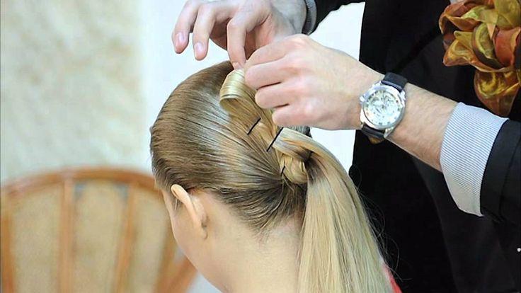 Прическа в греческом стиле, прически из длинных волос