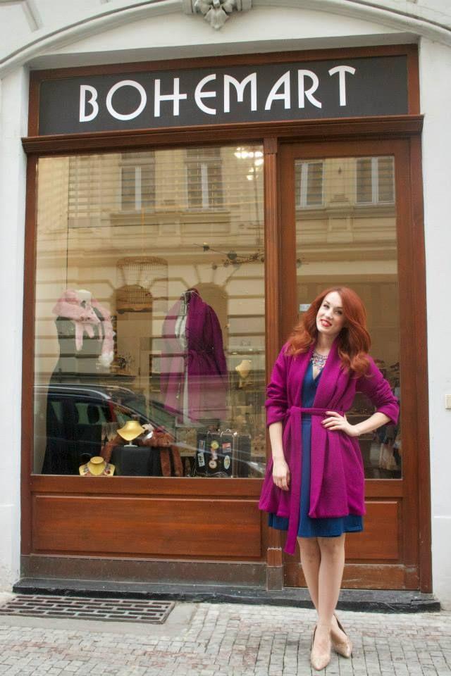 Czech actor Lenka Vacvalova, clothing Kateřina Jurišić, Bohemart opening #czechfashion #prague #czech #pragueshopping #czechdesigners #czech designers #fashion #love #accesories #bags #chic #boho #style #instyle #homedecor #localfashion #local products #no fur shop #outfit #whowearus #howtowearit #hippie #elegant #gypsy #citylook #quality #folk