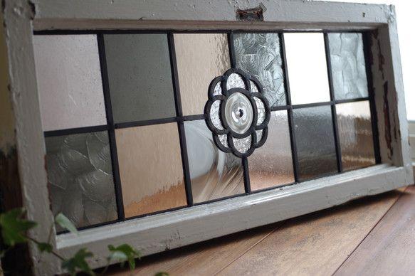 ステンドグラス、パネルP22