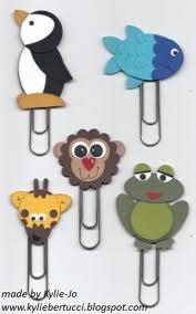 paper clips punch art