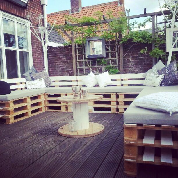 Our gorgeous terrace. #homemade