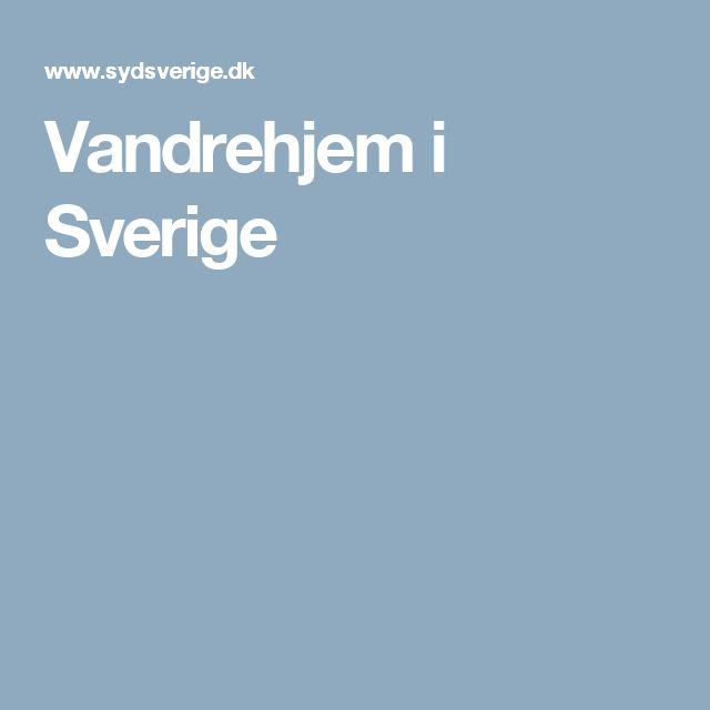 Vandrehjem i Sverige