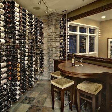 Exceptionnel Wine Cellar Photos Small Home Bar Design, Pictures, Remodel, Decor And Ideas