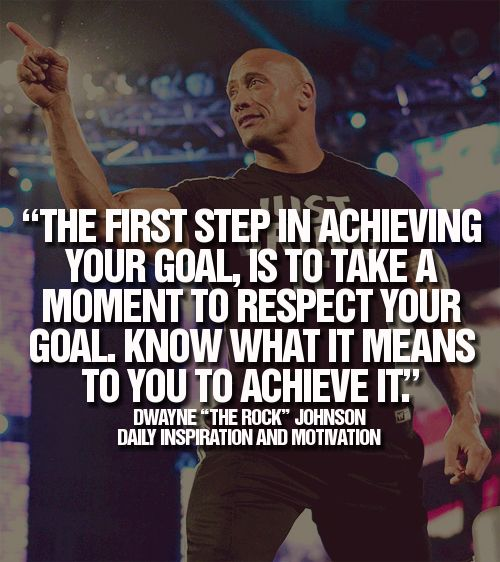 """Quote by Dwayne """"The Rock"""" Johnson!"""