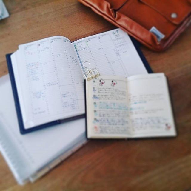 やっぱり#ノート が好き。 字ばっかりの日記。 #アクションプランナー は週始めはスカスカだけど、週末はびっしり。実際の行動記録は赤ペンで埋めていく。  #手帳時間 #能率手帳 #能率手帳ゴールド #暮らし