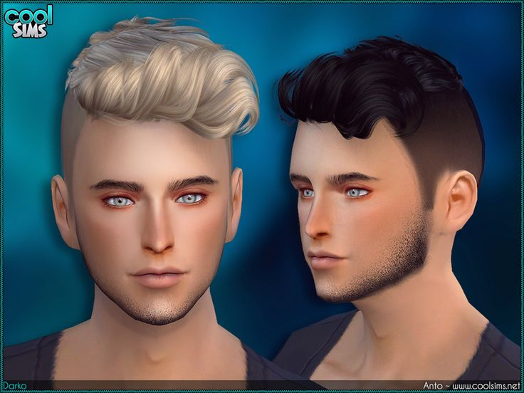 The Sims Resource: Anto - Darko hairstyle by Alesso | cc ...