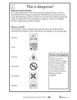 signs of danger health grade 3 science free printable worksheets danger signs. Black Bedroom Furniture Sets. Home Design Ideas