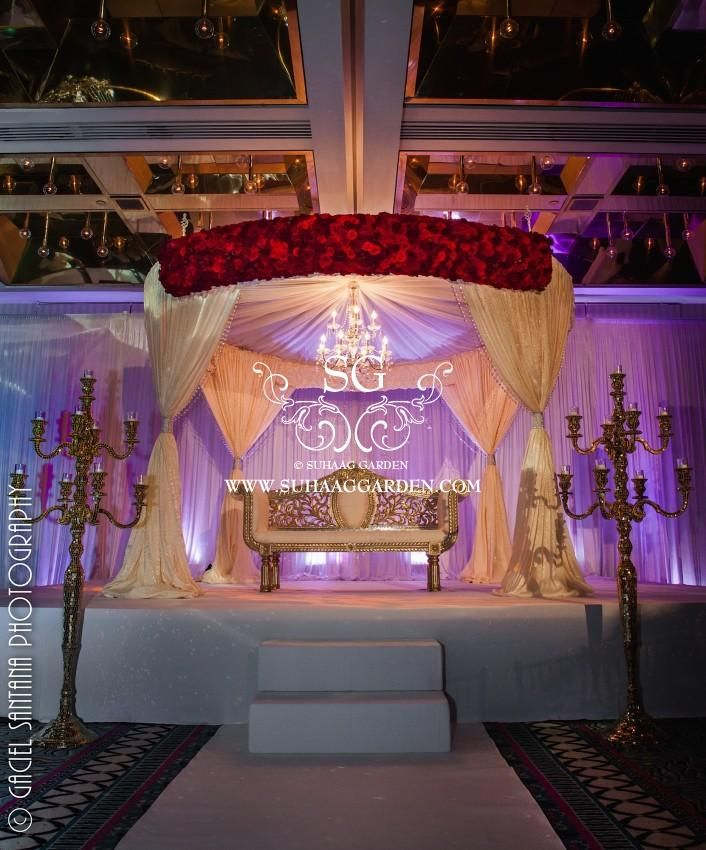Hyatt Downtown Miami Suhaag Garden Florida Indian Wedding Decorator Decoration Vendors Mandap