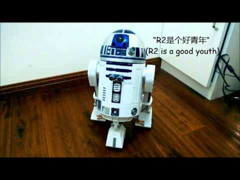 (4) R2D2 Robot Powered by Raspberry Pi - YouTube