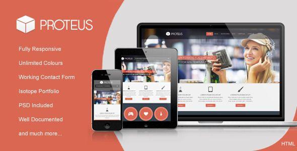 Proteus - Responsive Multipurpose HTML Theme