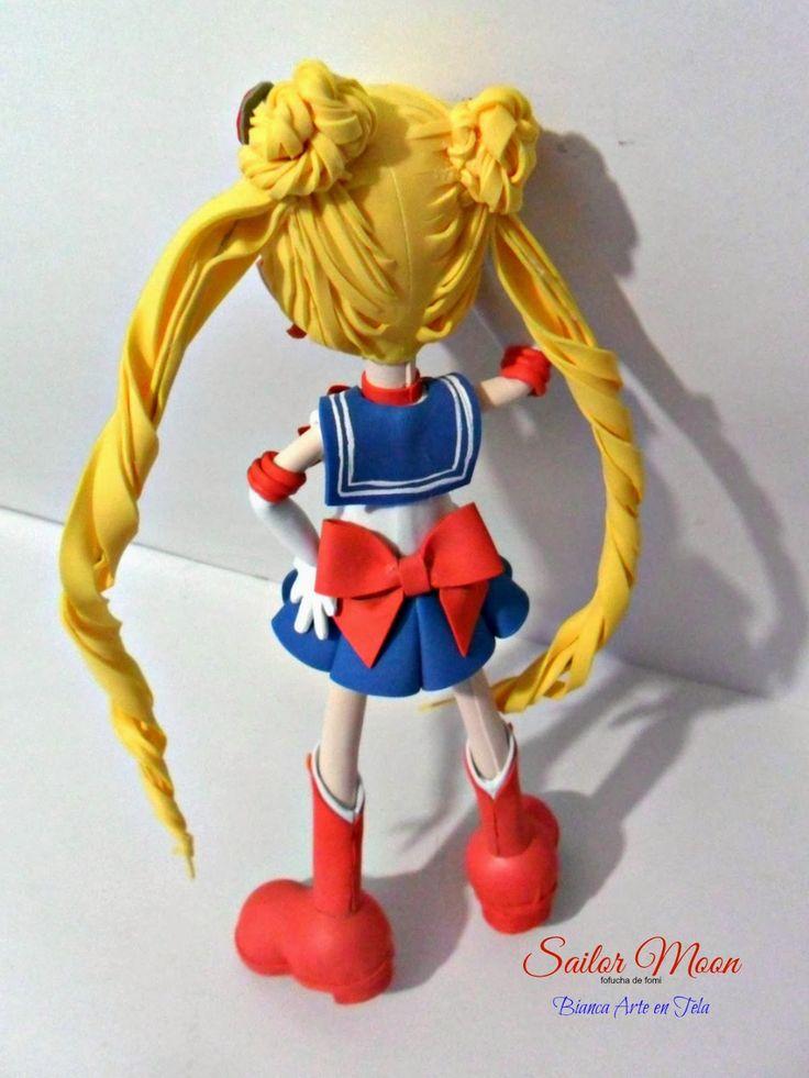 """Hola amigos Este es mi primer proyecto Fofucha de Anime """"Sailor Moon"""""""