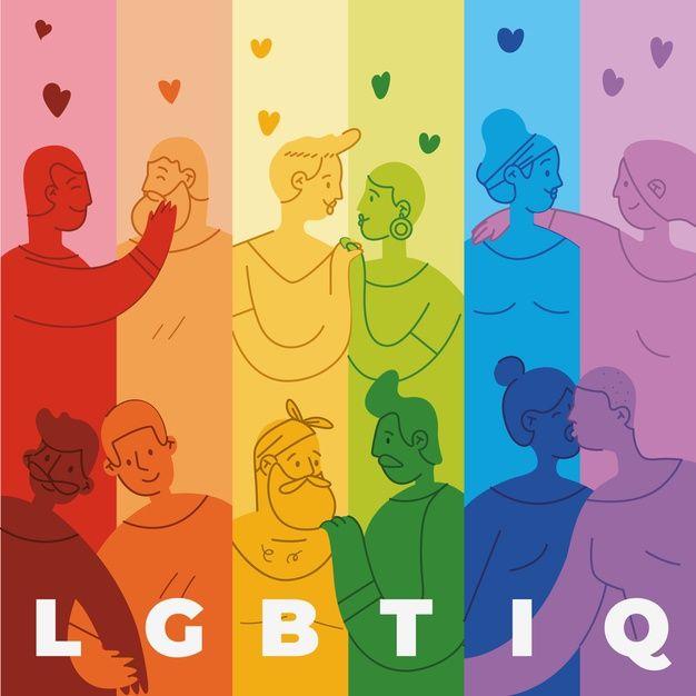 Tinte de la bandera del día del orgullo ... | Free Vector #Freepik #freevector #fondo Gay Aesthetic, Easy Drawings, Pride Day, Lgbt Flag, Mini Canvas Art, Love Illustration, Power To The People, Poster, Vector Freepik
