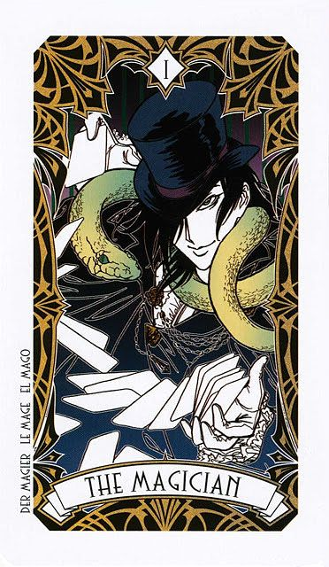 1 The Magician On Pinterest