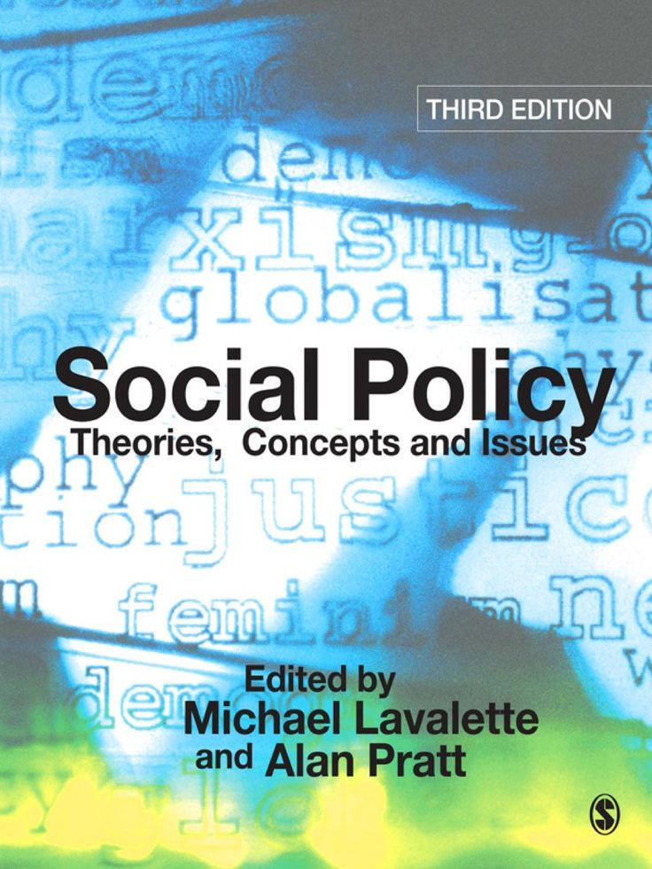 Social Policy Theories Concepts and Issues (eBook