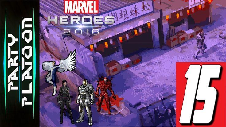 Party Platoon | Marvel Heroes 2016 (#15 Iron Man Gameplay) Finally Unloc...