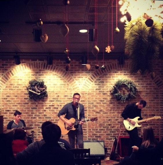 Greyhouse has live music from local bands every Friday night. This makes Greyhouse FEEL like a small concert venue with wonderful live music.