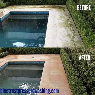 Blue Trust Pressure Washing proudly serves the Houston, Greater Houston Area, from Downtown Houston to Clear Lake,  Spring, Cypress, Sugarland, Conroe, and everywhere in between with residential & commercial pressure washing services. We will work with you on a price that fits your budget, and our work is 100% guaranteed. We take our business very seriously which means that your satisfaction is our only goal. So, feel free to browse around our site and then give us a call.