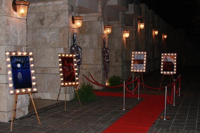 little ant design: real party: oscars/old hollywood
