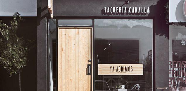 Diseño + Tacos: Taqueria Canalla