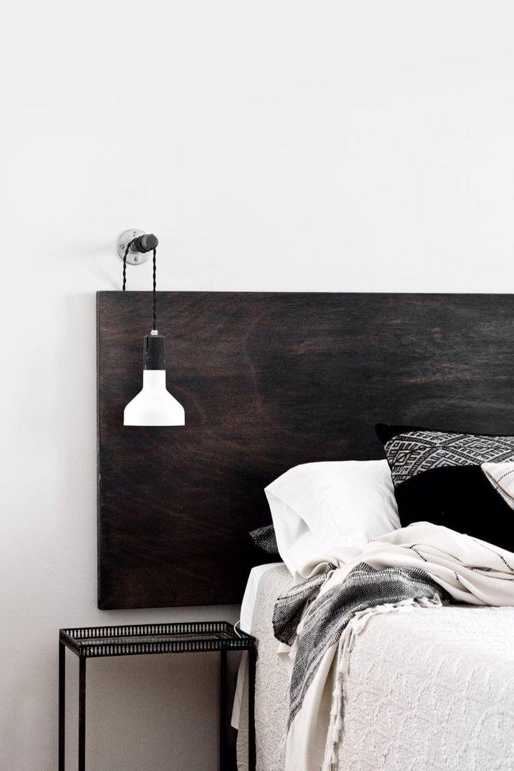tête de lit contrastée