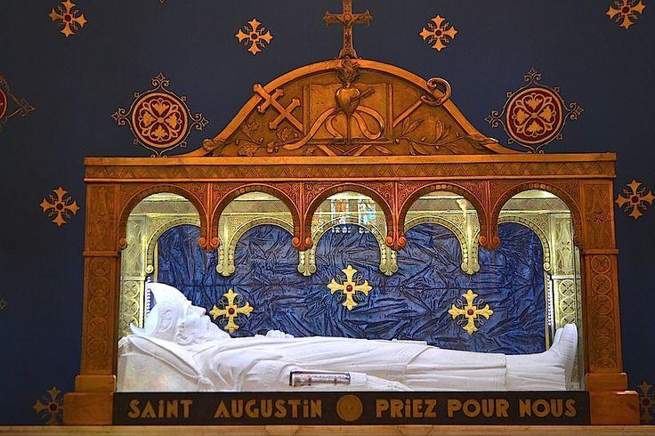 Saint Agustine of Hippo / Algeria // Basilique Saint-Augustin d'Hippone [la cité antique qui précéda Annaba] (354-430) // Numidie // Algérie // #Christianity #NorthAfrica #relic #reliquia