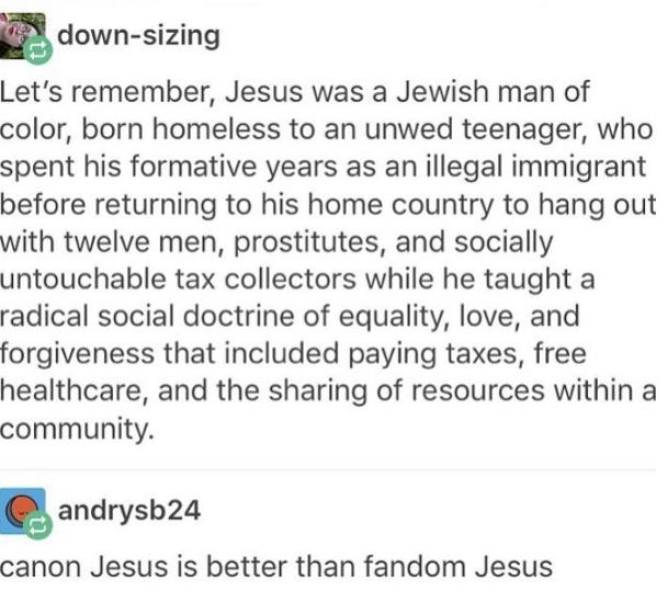 This is the Jesus I want people to remember