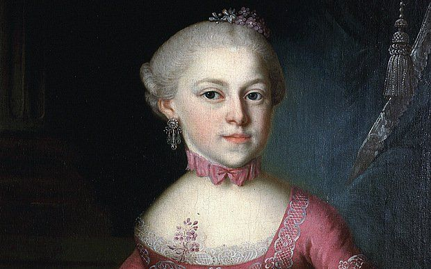Mozart's sister Maria Anna was an accomplished composer and musician, and helped write his early works.