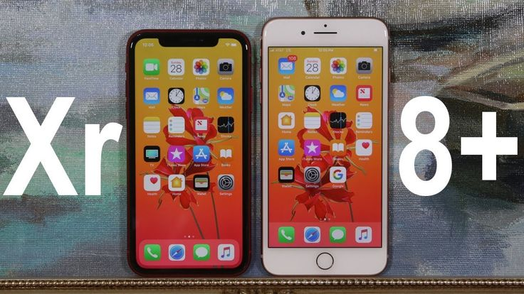 iPhone Xr vs iPhone 8 Plus - Full Comparison - YouTube