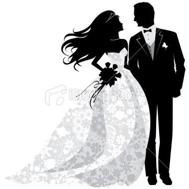 bride and groom silhouette google search