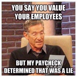 When you get a RAISE and then excitedly open your next paycheck only to see that actually, no, that wasn't a raise after taxes.   29 Awkward Moments That Inevitably Happen At Work