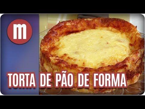 Torta de pão de forma — Receitas