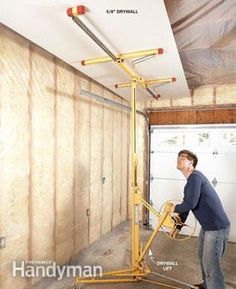 Transform your garage into a room by adding wiring, insulation and wall covering. A finished garage can become a workshop, mechanic's space, play space or even a private den.