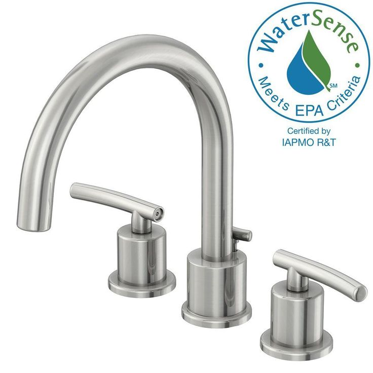 $74 at home depot -- Glacier Bay Dorset 8 in. Widespread 2-Handle High-Arc Bathroom Faucet with Pop-up Assembly in Chrome-FW0C4100CP - The Home Depot